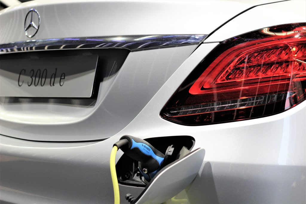 Mercedes hybride rechargeable