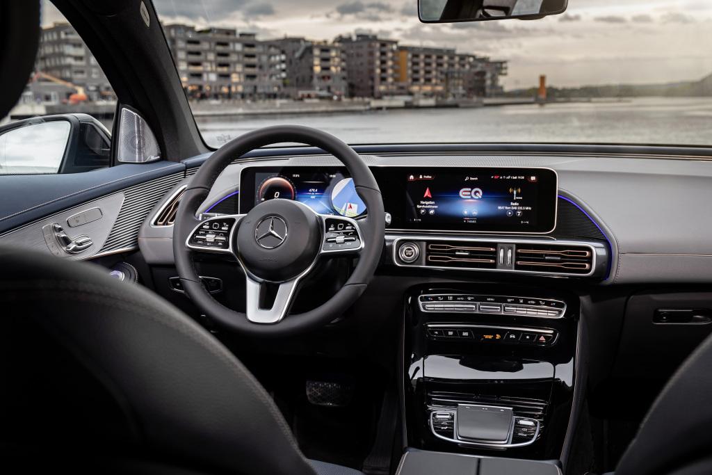 Mercedes-Benz EQC MBUX