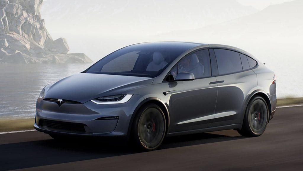 Nouveau Tesla Model X