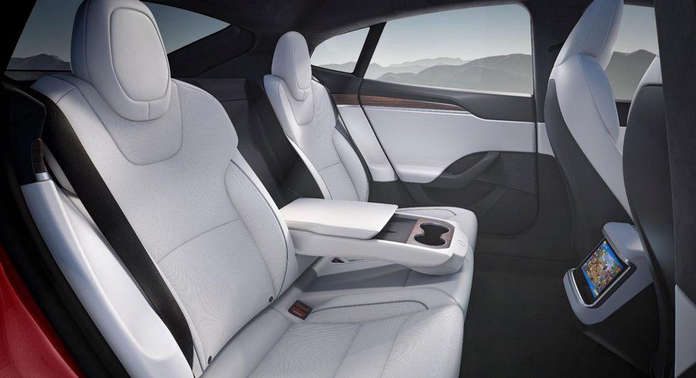 Tesla Model S 2021 arrière