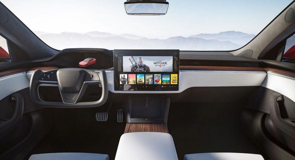 Tesla Model S 2021 intérieur