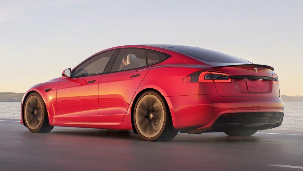 Tesla Model S 2021 plaid