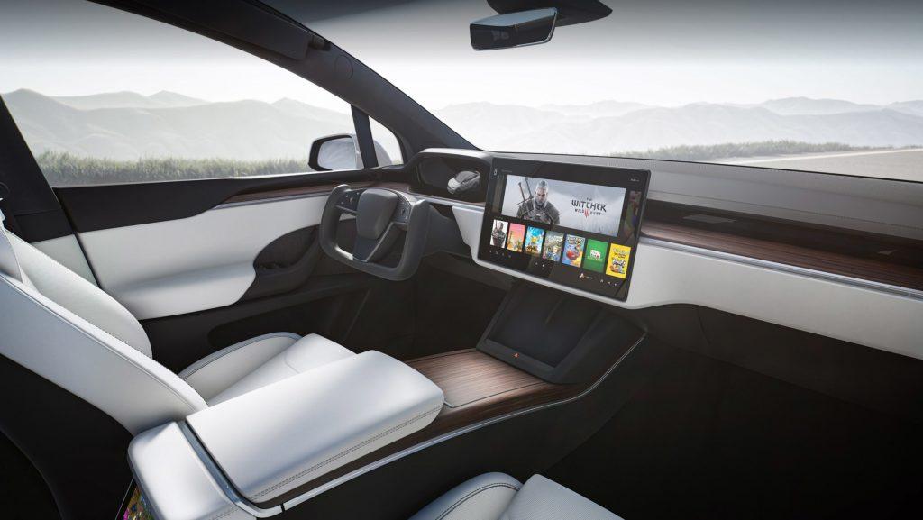 Tesla Model X 2021 intérieur